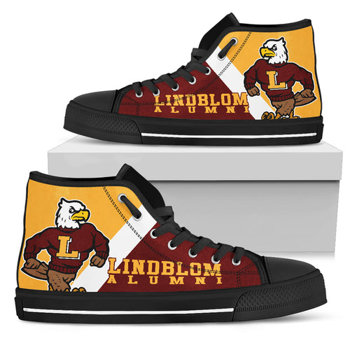 Lindblom Eagles High-TopVG4_Men - JaZazzy