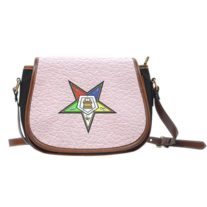 Pink Saddle Bag with OES logo