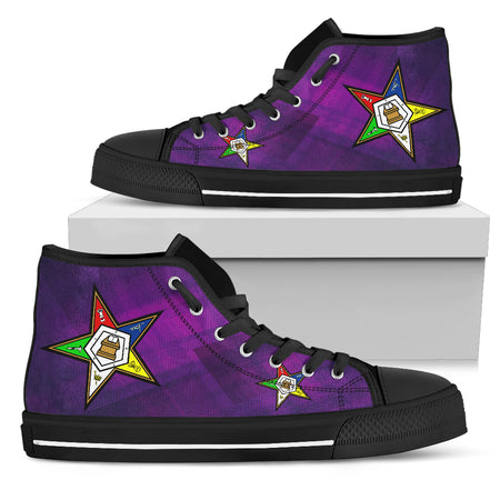 OES  Classic Womens High Top_Purple SQ - JaZazzy