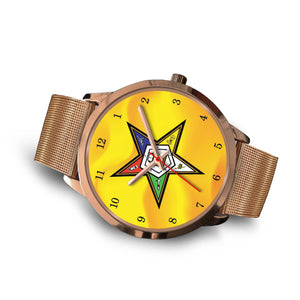 OES FATAL Watch  01A  Gold-Gold - JaZazzy