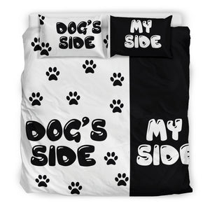 MY SIDE BEDDING SET FOR DOG OWNERS - JaZazzy