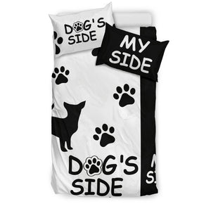Chihuahua Dog's Side My Side Bedding Set - JaZazzy