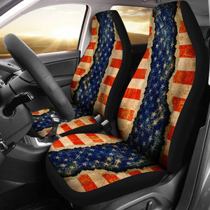 JZP Ripped Patriot 026 Seat cover - JaZazzy