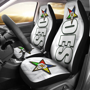JZP Order Eastern Star White Seat Cover A01A - JaZazzy