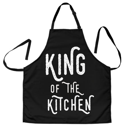 Men's Apron King Of The Kitchen - JaZazzy