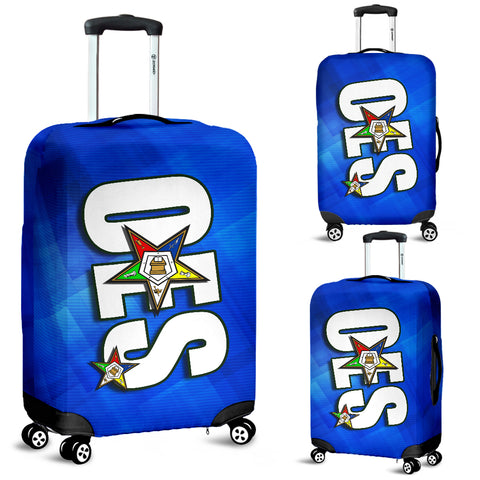 OES Luggage Cover 1C  Blue SQ - JaZazzy