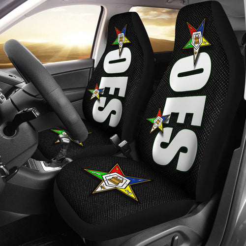 OES Car Seat Cover A02A Black - JaZazzy