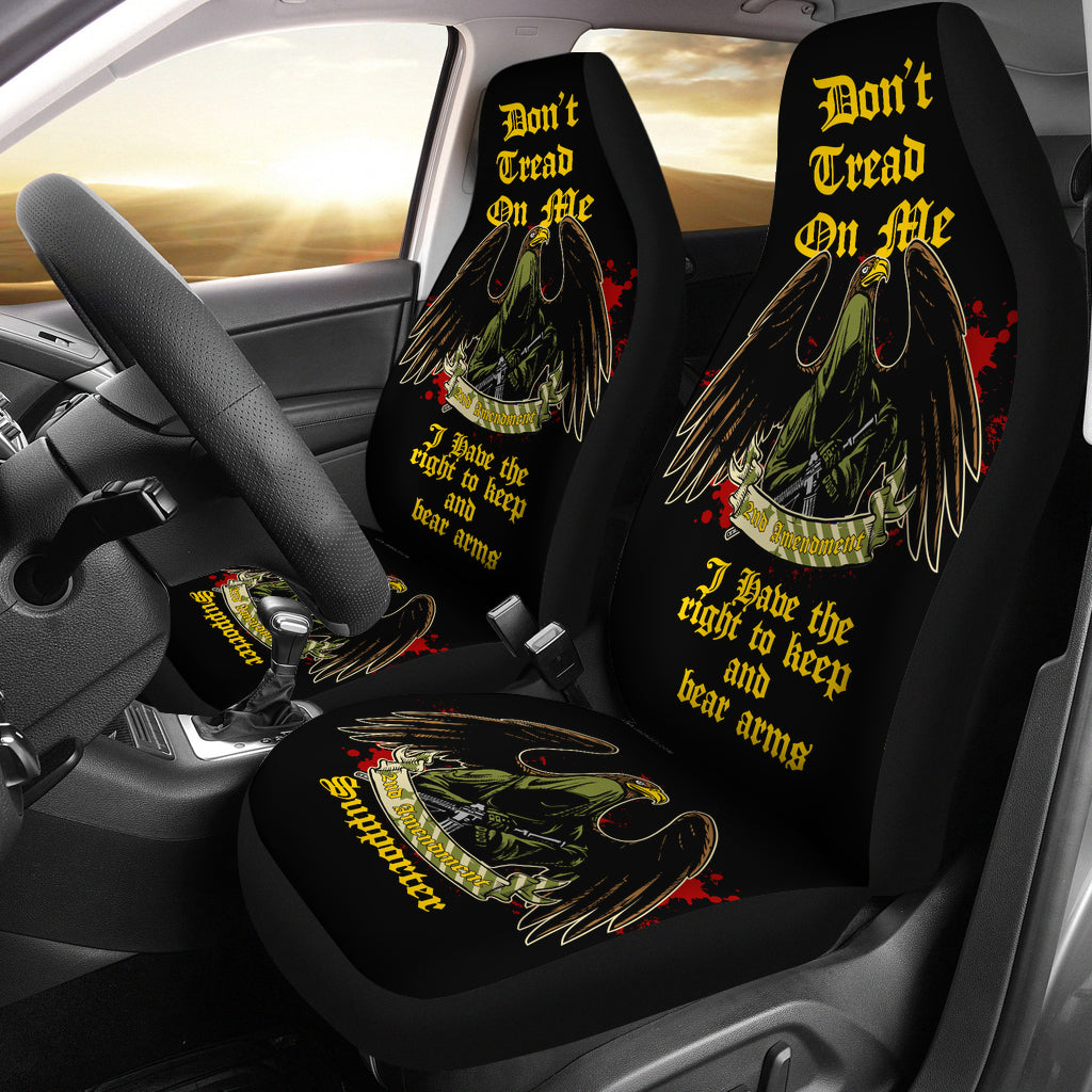 2nd Amendment Supporter Car/SUV Seat Cover v1B2 - JaZazzy