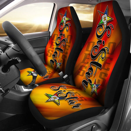 OES SiStar Gold Twist Car Seat Cover - JaZazzy