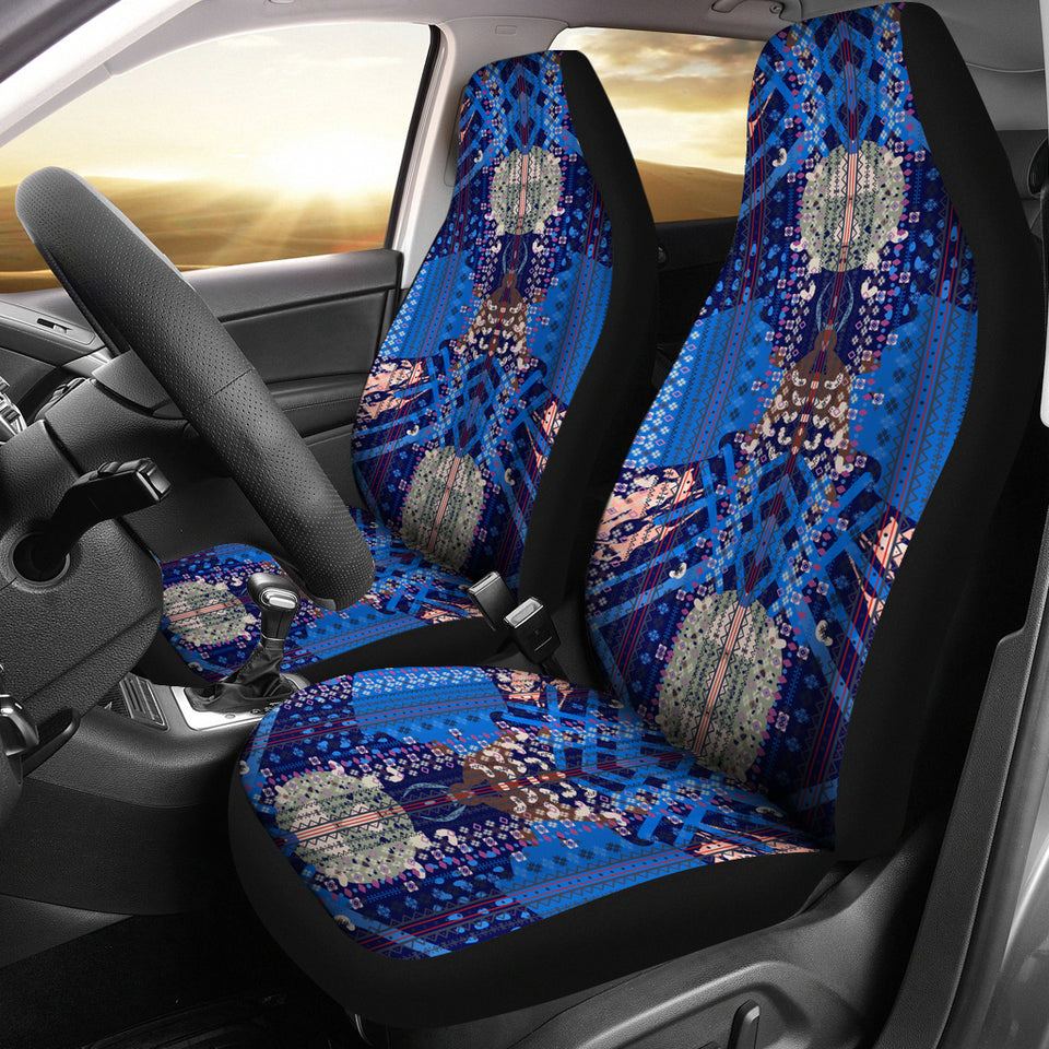 Boho Ethnic Abstract Art Car Seat Covers - JaZazzy