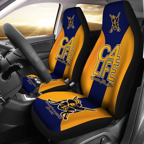 JZP Chicago Vocational-C4L-Car/SUV Seat Cover01 Gold - JaZazzy