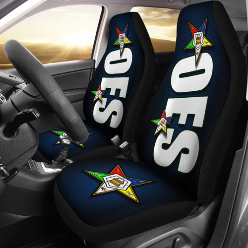 JZP - OES Car Seat Cover A5 Blue - JaZazzy