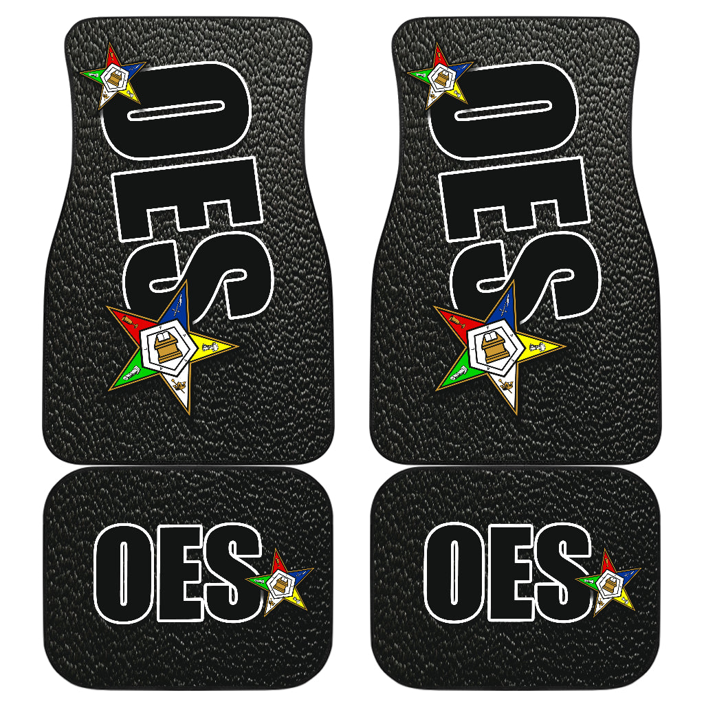 OES Ft-Bk Car/SUV-Floor Mats 5318AA  BLACK - JaZazzy