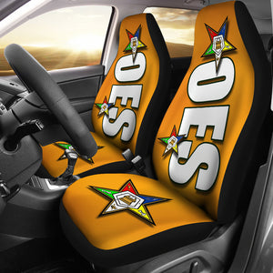 JZP - OES Car Seat Cover A3 Gold - JaZazzy
