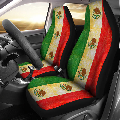 JZP-Flag Mexico Seat Cover 01A - JaZazzy
