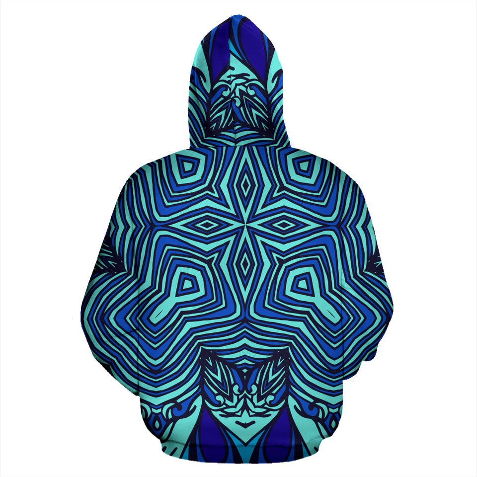 Abstract Kaleidoscope All Over Print Hoodie - JaZazzy