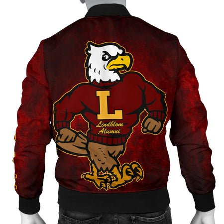 LINDBLOM BOMBER JACKET All Class- MAROONBLEND_MEN - JaZazzy