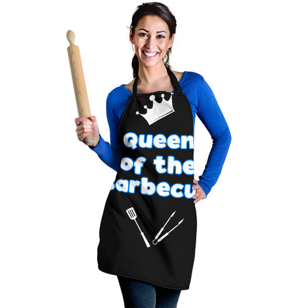 Queen of the Barbecue Women's Apron - JaZazzy
