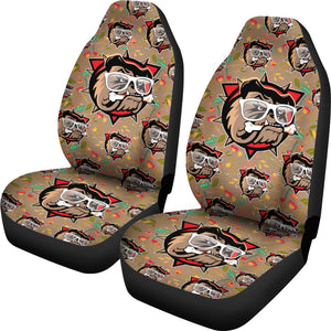 Cool Shades Bulldog Car Seat Covers - JaZazzy