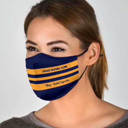 CVS 5-Stripe Horiz  Face Cover 2D