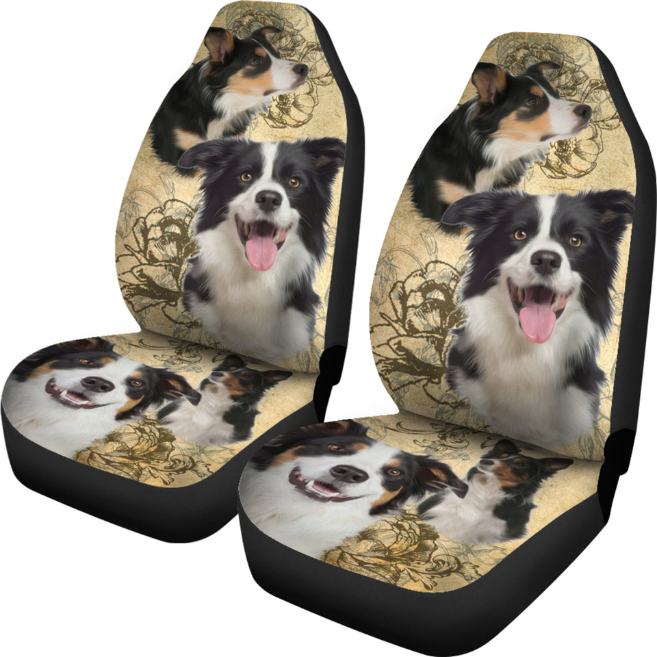 Border Collie Car Seat Covers (Set of 2) - JaZazzy