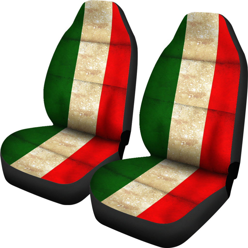 JZP All Italian Flag Seat Cover 01A - JaZazzy