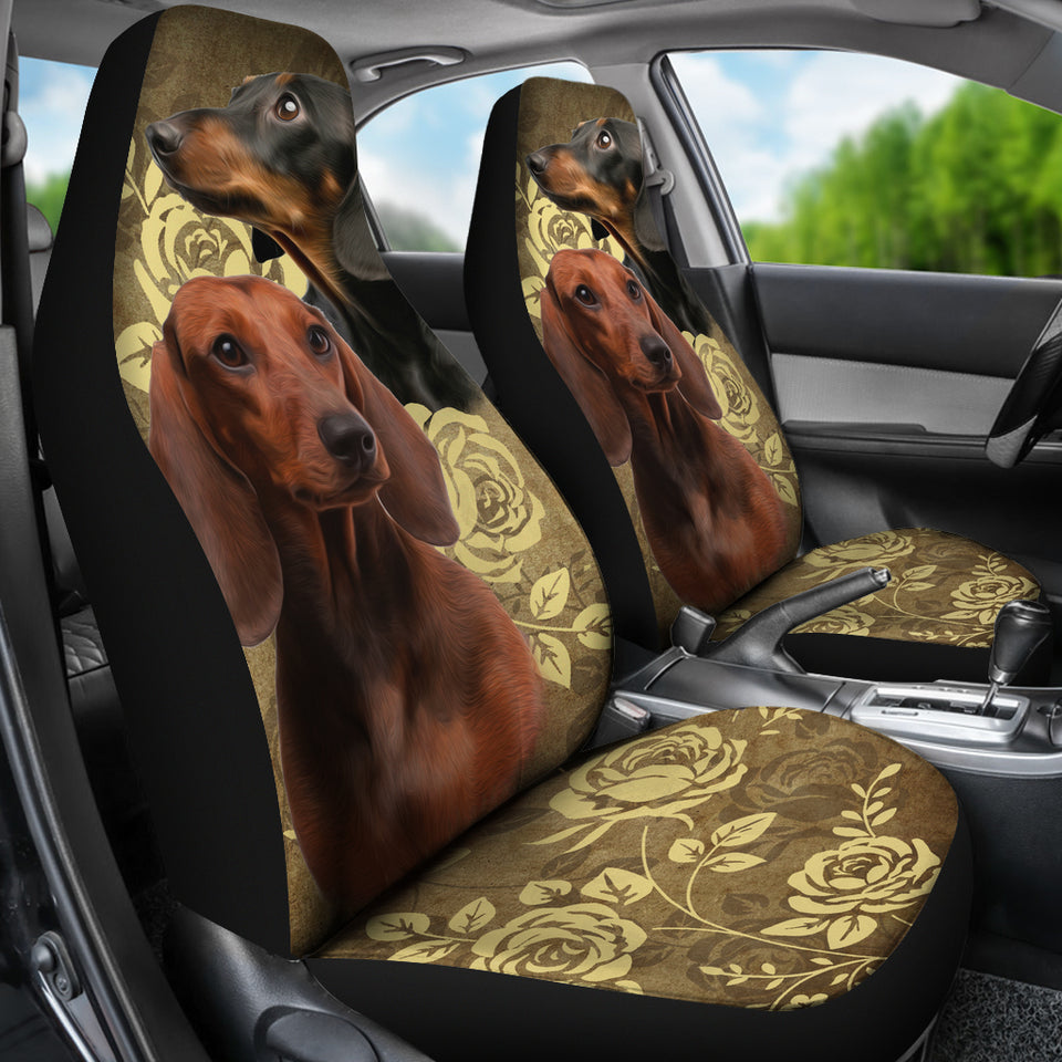 Dachshund Car Seat Covers (Set of 2) - JaZazzy