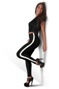 Black Sable Lava Infused Leggings - JaZazzy