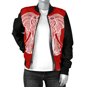 Delta Big E Color Block Bomber Jacket - JaZazzy