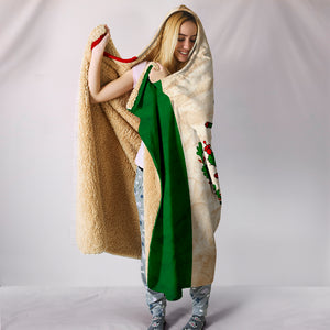 Hoodie Blanket - Mexican Flag Print_Green-White-Red - JaZazzy