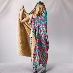 Beautiful Boho Hooded Blanket - JaZazzy