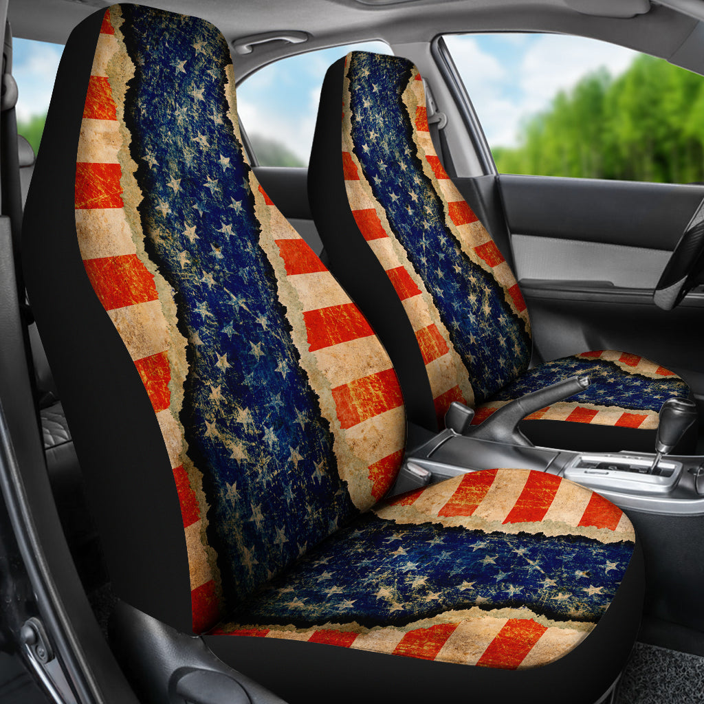 JZP Ripped Patriot 026 Seat Cover
