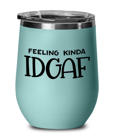 Delta Sigma Theta Chill Wine Glass 2G - JaZazzy
