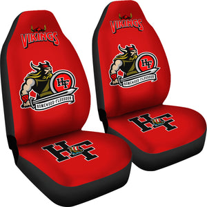 JZP Homewood-Flossmoor Viking Seat Cover 003A Red - JaZazzy