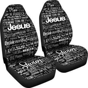 Names of JESUS -2  Black_White - JaZazzy
