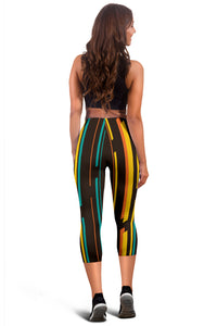 Chroma Capris Leggings - JaZazzy