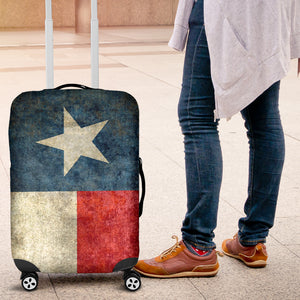 Texas Flag  Luggage Cover-red/white/blue - JaZazzy