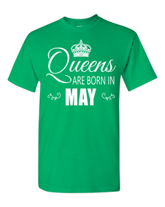 Queens are born in May_T-Shirt_840