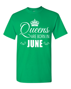 Queens are born in June_T-Shirt_840