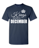Kings are born in December_T-Shirt_840 - JaZazzy