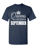 Queens are born in September_T-Shirt_840 - JaZazzy