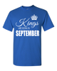Kings are born in September_T-Shirt_840 - JaZazzy