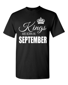 Kings are born in September_T-Shirt_840
