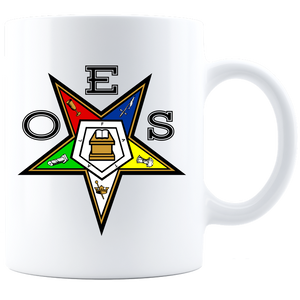 OES Star Coffee Mug - White - JaZazzy