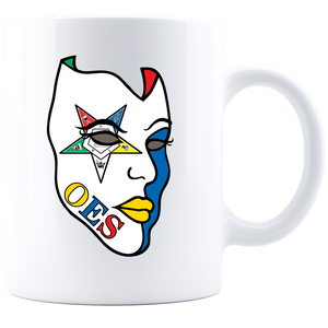 OES Mask Coffee Mug - White