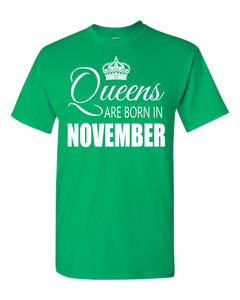 Queens are born in November_T-Shirt_840