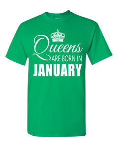 Queens are born in January_T-Shirt_840
