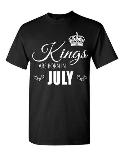 Kings are born in July_T-Shirt_840 - JaZazzy