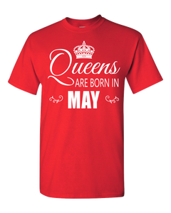 Queens are born in May_T-Shirt_840 - JaZazzy