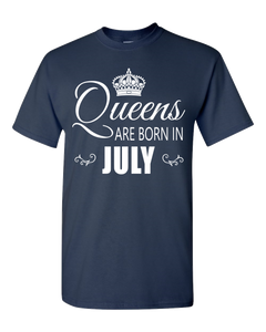 Queens are born in July _T-Shirt_840 - JaZazzy